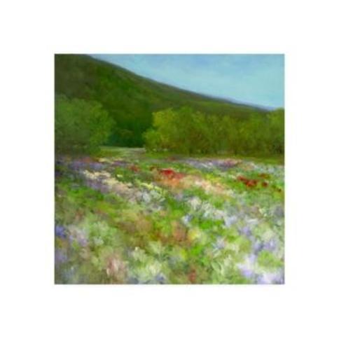 """Sheila Finch Flowers of Half Moon Bay Ii Canvas Art - 27"""" x 33"""""""