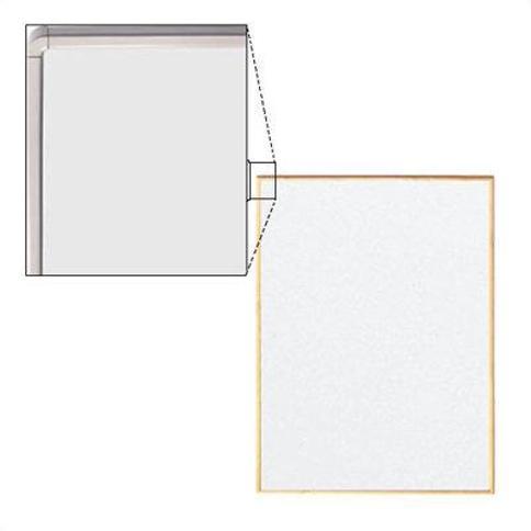 Peter Pepper Tactics® Wall Mounted Whiteboard TCXXXX-6-X Size: 4' H x 4' W Frame Finish: Black