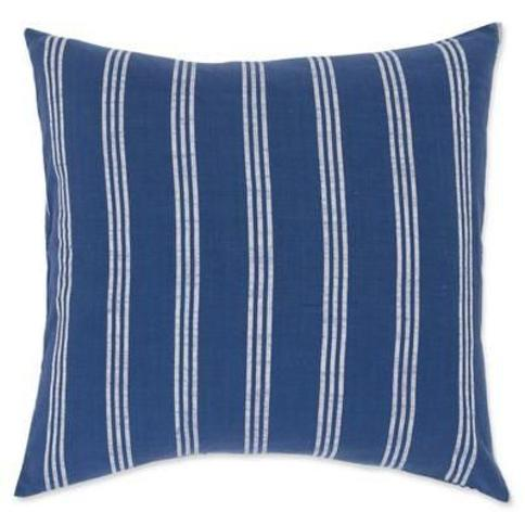 Carol & Frank Perry European Pillow Sham in Indigo