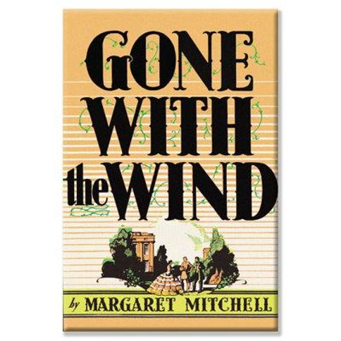 """Buyenlarge Gone with The Wind by Margaret Mitchell Vintage Advertisement on Wrapped Canvas 05870-6C2030 / 05870-6C2436 Size: 30"""" H x 20"""" W"""