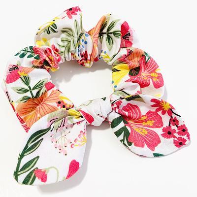 Head Wrap Bow Bright Floral