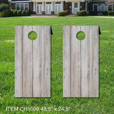 Baseball Field Themed Custom JR Size Custom Cornhole Boards Tailgating /& Traveling Perfect for Kids 15 x 30