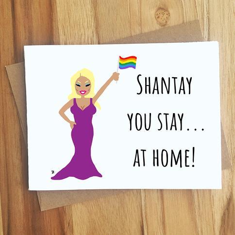 LQBTQ Valentine LGBTQIA Love Card for Weddings  Anniversary  Pride Rainbow Periodic Table I Love You Card