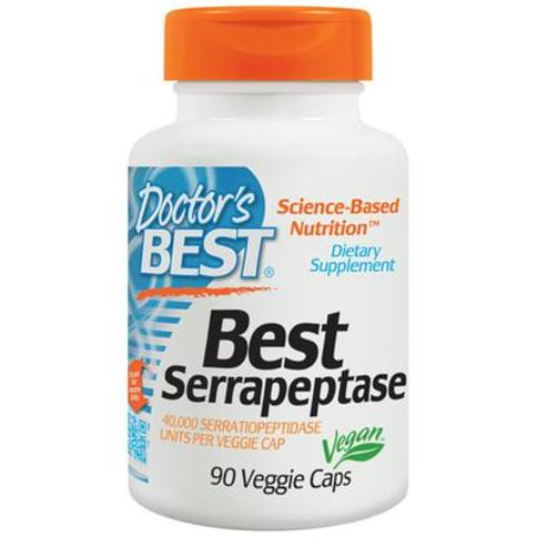 Doctor's Best Serrapeptase-90 Vegi Caps