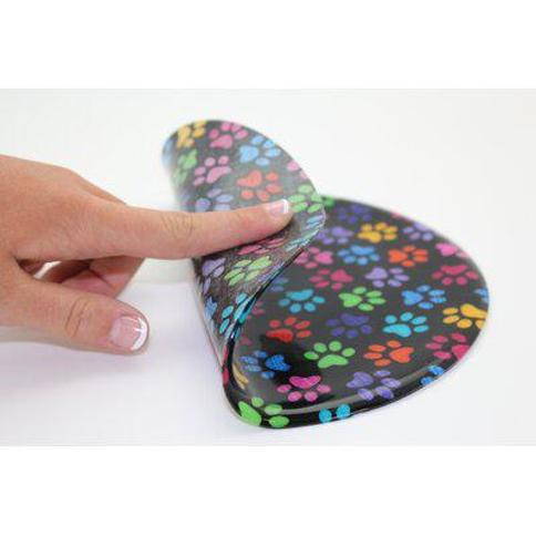 Andreas Silicone Trivets Color Paws Jar Opener JO-309