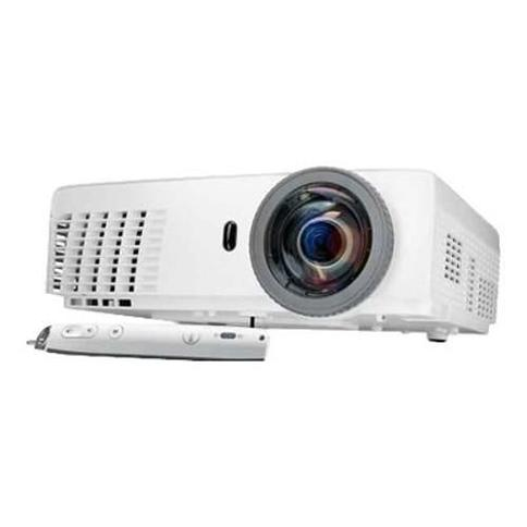 DellS320wi - DLP projector - 3D - 3000 lumens - XGA (1024 x 768) - 4:3 - 802.11n wireless / LAN - with 5 years Advanced Exchange Service(S320WI5)