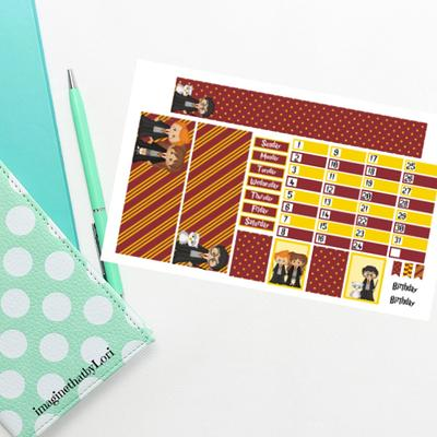 Hobonichi Weeks August Monthly Kit