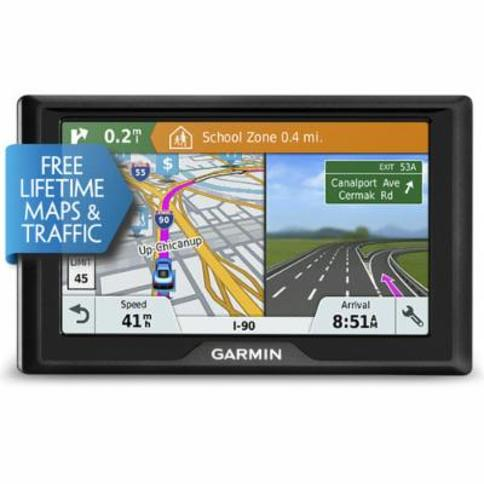 Garmin Drive 51LMT-S GPS For United States with FREE Lifetime Maps and Traffic Update - 010-01678-0C