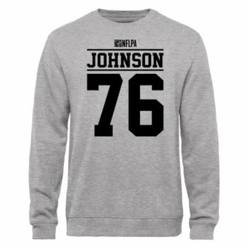 Anthony Johnson NFLPA Player Issued Sweatshirt - Ash