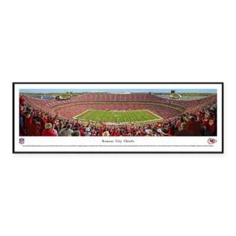 NFL Kansas City Chiefs 50-Yard Line Arrowhead Stadium Standard Panoramic Framed Picture