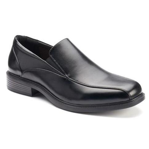Croft & Barrow Perry Men's Ortholite Bicycle-Toe Dress Shoes, Size: 10.5 Wide, Black