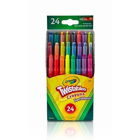 Crayola Mini Twistables Fun Effects Crayons