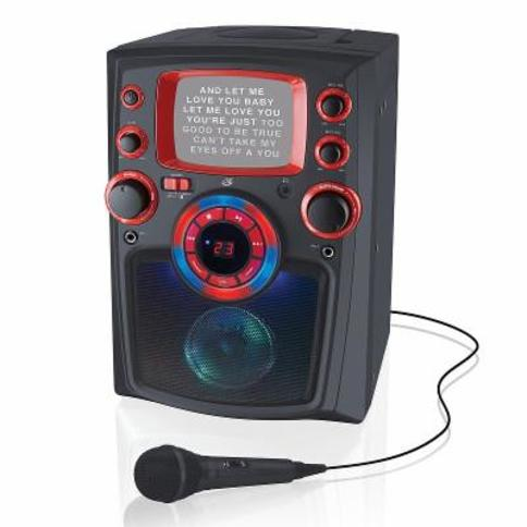 iLive Bluetooth Wireless Karaoke Machine with Built-In Monitor, Black