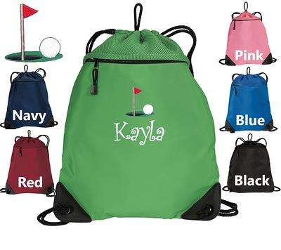 Custom with your text Great for carrying all of your essential  items on board and in the ports. Cruise Cinch Sack Back Pack