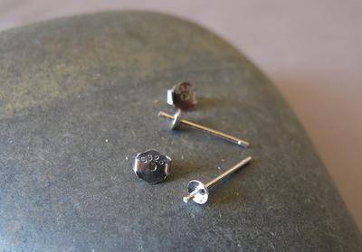 Pearl Stud 925 Sterling Silver Earrings 3mm and 4mm Pair