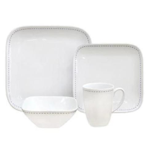 Over and Back Dash 16-Piece Dinnerware Set