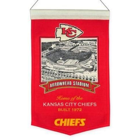 NFL Kansas City Chiefs Arrowhead Stadium Banner