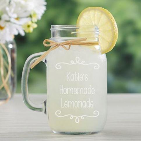 Write Your Own Glass Mason Jar