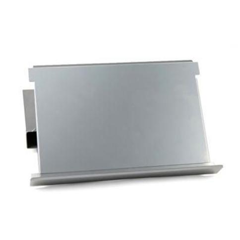 Mind Reader Monitor Stand Riser with Easel in Silver