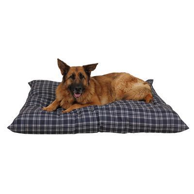 Carolina Pet Company Blue Plaid Indoor Outdoor Shebang Dog Bed Yahoo Shopping