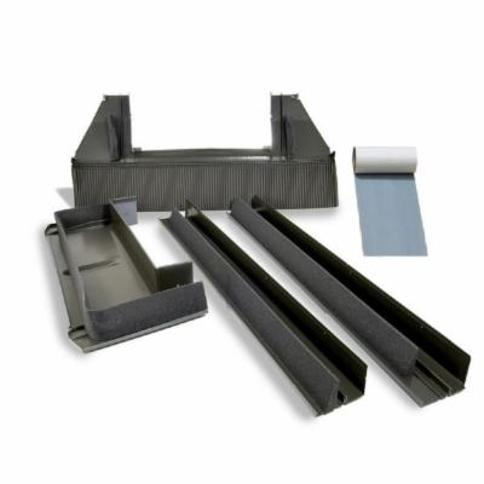 Velux EDW C06 0000A Size C06 High-Profile Tile Roof Flashing Kit with Adhesive U N/A