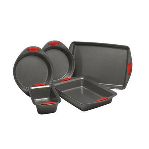 Rachael Ray Rachael Ray Yum-o!® 5 Piece Non-Stick Steel Bakeware Set 47021 / 47020 Color: Red