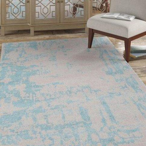 Bloomsbury Market Celery Handloom Gray/Gumbo Blue Area Rug X112359721 Rug Size: Square 9' Color: Gray/Gumbo Blue
