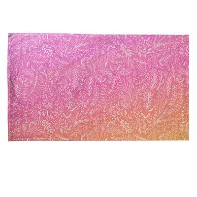 East Urban Home Ditsy Floral Pattern Tea Towel X112179195 Color Pink Material Cotton Twill Yahoo Shopping