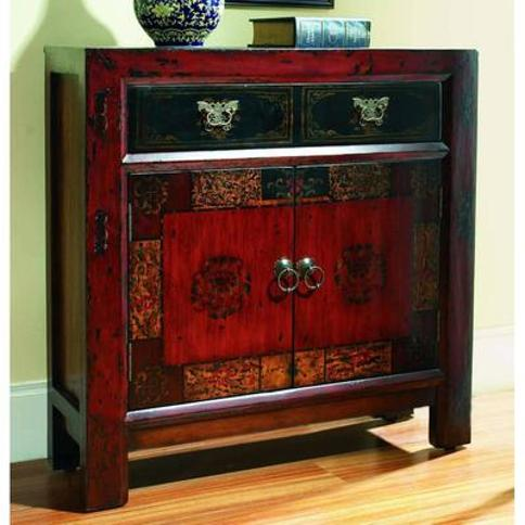 Hooker Furniture 500-50-645 36 Inch Wide Hardwood Cabinet from the Asian Collect Rich Gesso with