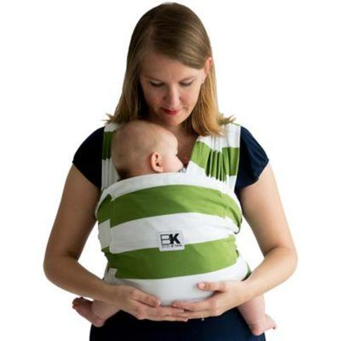 Baby K'tan Original Extra Extra Small Baby Wrap Carrier in Olive Stripe