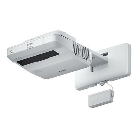 EpsonBrightLink 697Ui Interactive - 3LCD projector - 4400 lumens (white) - 4400 lumens (color) - WUXGA (1920 x 1200) - 16:10 - 1080p - ultra short-thr