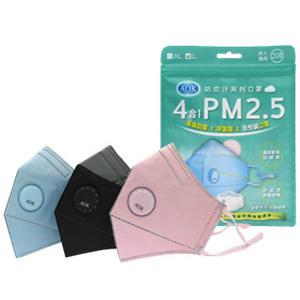 (現貨供應中) 飛速四合一PM2.5活性碳口罩2入/袋 *維康