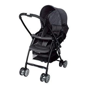 『121婦嬰用品館』愛普力卡 Aprica Karoon 629 超輕量雙向平躺型嬰幼兒手推車-高雅黑
