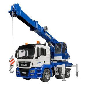 bruder MAN 藍色吊車組 RU3770 (德國製造)