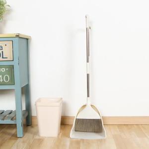 ✭米菈生活館✭【Z87】掃把大簸箕組合兩件套 家用 套裝 居家 地板 清潔 笤帚 掃頭髮 軟毛掃帚