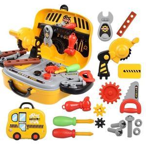 過家家玩具兒童工具箱玩具套裝過家家維修修理益智男寶寶3456歲男孩玩具電?xw 全館免運