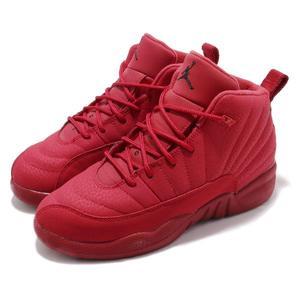 b00e92e94c0 Nike Air Jordan 12 Retro PS Gym Red 紅全紅喬丹12代童鞋中