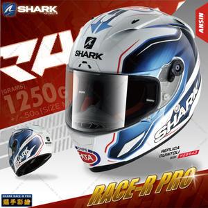 [中壢安信]SHARK Race-R Pro REPLICA 白黑紅 全罩 安全帽 頂級 選手帽 WBK