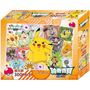 神奇寶貝XY300片盒裝拼圖(A)