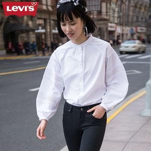 Levis 襯衫 女裝 / 復古花紋 / 蕾絲