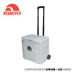 Igloo MARINE UL系列三日鮮28QT拉桿冰桶45929 /城市綠洲 (保鮮、保冷、美國製造、戶外旅行、露營冰箱)