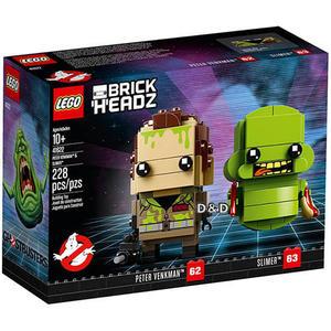 樂高積木 LEGO 2018《 LT41622 》Brickheadz 積木人偶系列 - Peter Venkman & Slimer╭★ JOYBUS玩具百貨