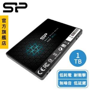 SP A55 1TB 2.5吋 SATA III SSD固態硬碟 低耗能 耐衝擊 無噪音 低延遲 廣穎