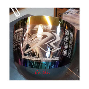 SBK安全帽,SUPER-RR,專用電鍍鏡片