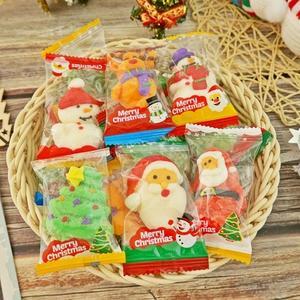 聖誕節手工造型棉花糖 500g/約30入【2019110620510】(聖誕節糖果)