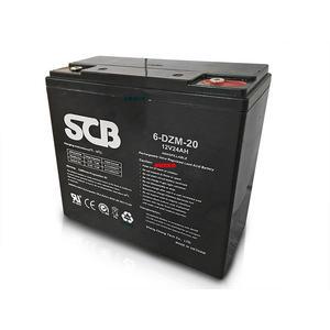 龍昌 SCB 12V 24Ah (6-DZM-20) 鉛酸電池 電動車 代步車 電池【康騏電動車】