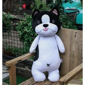 可愛狗狗抱枕抱著睡覺柴犬哈士奇毛絨玩具公仔韓國萌娃娃搞怪女生【櫻花本鋪】