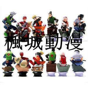 楓城動漫忍者擺件naruto6款國際象棋鳴人佐助卡卡西公仔模型