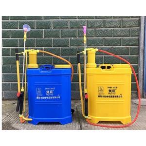 16L手動噴霧器農用手壓式打農藥機背負式防疫消毒機非電動噴霧器QM 藍嵐