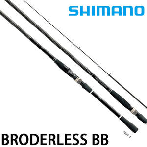 漁拓釣具 SHIMANO BORDERLESS BB 460M-T (磯釣竿)